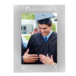 Personalised Graduation 5x7 Silver Photo Frame