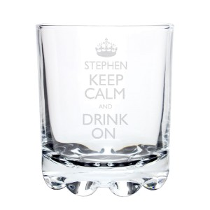 Personalised Keep Calm Tumbler