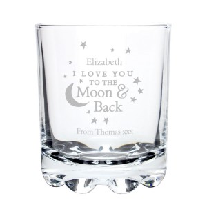 Personalised To the Moon and Back... Tumbler