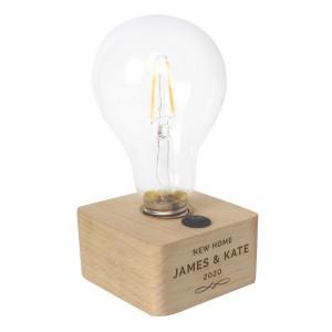 Personalised Decorative LED Bulb Table Lamp