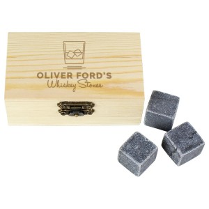 Personalised On The Rocks Cooling Stones