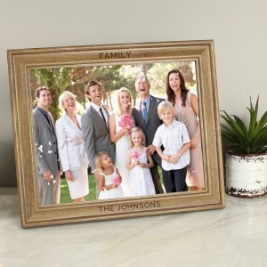 Personalised Free Text 10x8 Wooden Frame