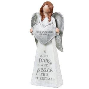 Personalised Christmas Angel Ornament