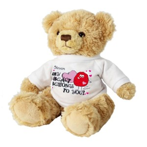 Personalised My Heart Belongs To You Monster Teddy Bear