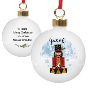 Personalised Nutcracker Bauble