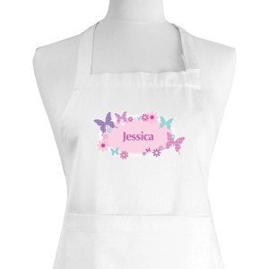 Personalised Butterfly Children's Apron