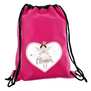 Personalised Fairy Princess Swim & Kit Bag