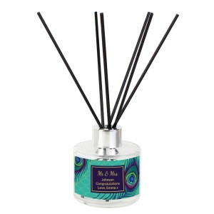 Personalised Peacock Reed Diffuser