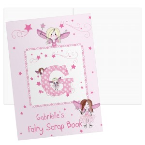 Personalised Fairy - A4 Scrapbook