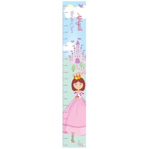 Personalised Fairy Tale Princess Height Chart