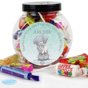 Personalised Me To You Male Wedding Sweets