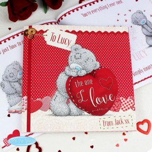Personalised Me to You The One I Love Poem Book