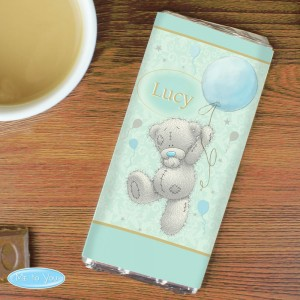 Personalised Me To You Balloon Milk Chocolate Bar