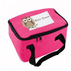 Personalised Woodland Owl Lunch Bag
