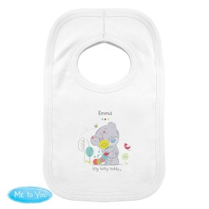 Personalised Tiny Tatty Teddy Cuddle Bug Bib