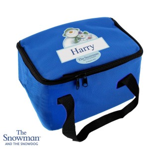 Personalised The Snowman and the Snowdog Lunch Bag
