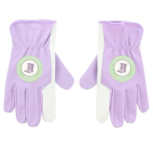 Personalised Head Gardener Medium Lilac Gardening Gloves