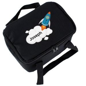 Personalised Rocket Lunch Bag