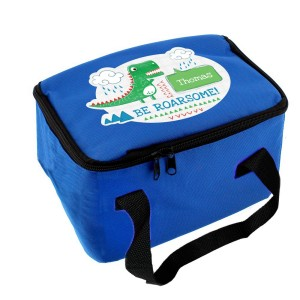 "Personalised ""Be Roarsome"" Dinosaur Lunch Bag"