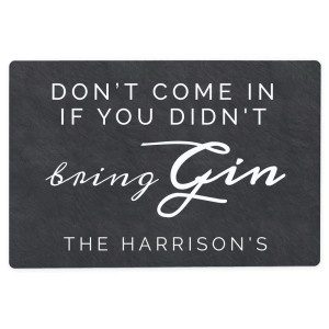 Personalised Gin Metal Sign