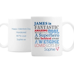 Personalised He Is.. Mug