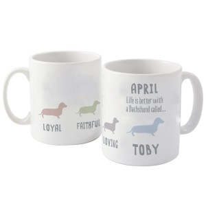 Personalised Dachshund Dog Breed Mug