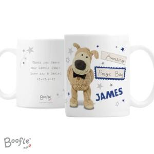 Personalised Boofle Male Wedding Mug