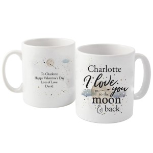 Personalised To the Moon & Infinity... Mug