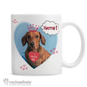 "Personalised Rachael Hale ""I Wuff You"" Mug"