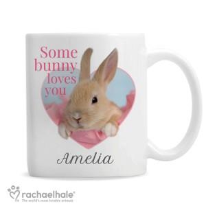 "Personalised Rachael Hale ""Some Bunny"" Mug"