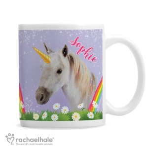 Personalised Rachael Hale Unicorn Mug