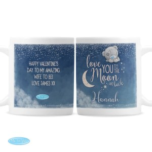 "Personalised Me to You ""Love You to the Moon and Back"" Mug"