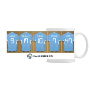 Manchester City FC Dressing Room Mug