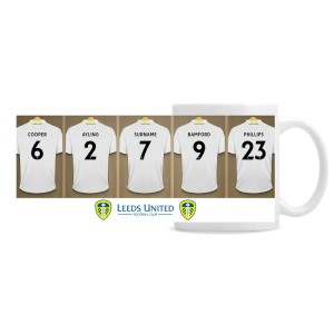 Leeds United Football Club Dressing Room Mug