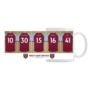 West Ham United FC Dressing Room Mug