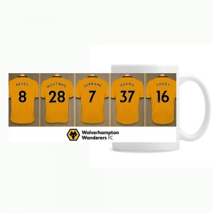 Wolves Dressing Room Mug
