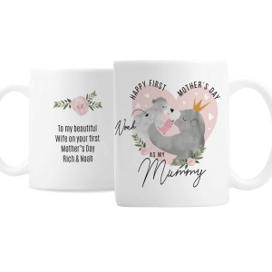 Personalised 1st Mother's Day Mama Bear Mug