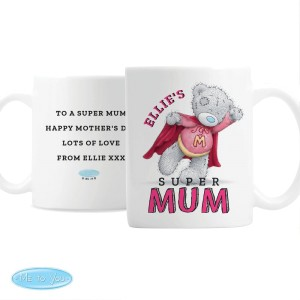 Personalised Me To You Super Mum Mug