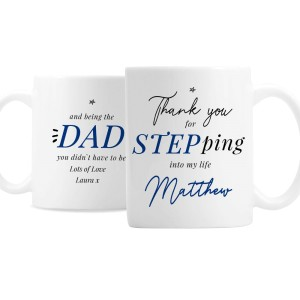 Personalised Step Dad Mug