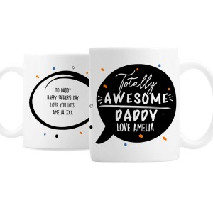 Personalised Totally Awesome Mug