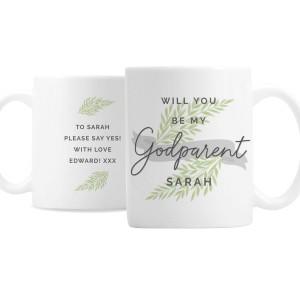 Personalised Godparent Mug