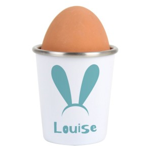 Personalised Bunny Ears Egg Cup