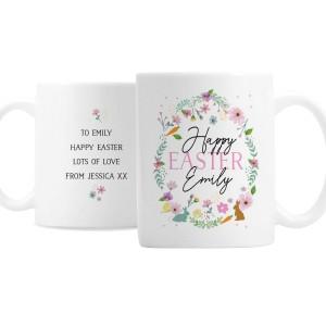 Personalised Easter Springtime Mug