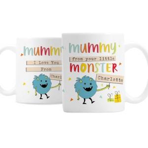 Personalised Little Monster Mug