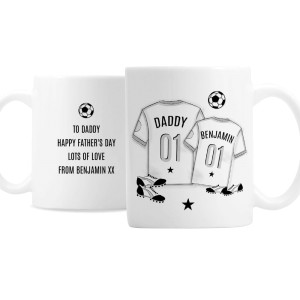 Personalised Football Mini Me Mug