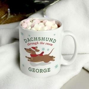 Personalised Dachshund Through... Mug
