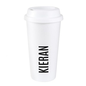 Personalised Name Insulated Eco Travel Cup