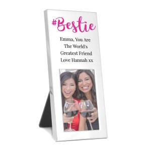 Personalised #Bestie 3x2 Photo Frame