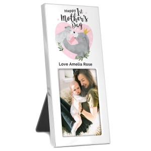 Personalised 1st Mothers Day Mama Bear 2x3 Photo Frame