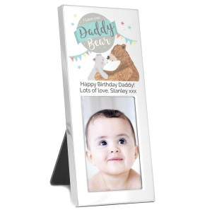 Personalised Daddy Bear 2x3 Photo Frame